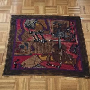 Albert Nipon silk scarf
